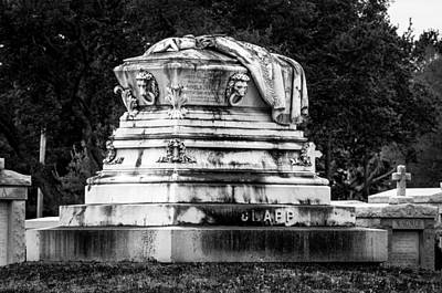 Emory Clapp Tomb Print by Andy Crawford