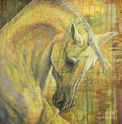 Arabs Painting - Emotion by Silvana Gabudean Dobre