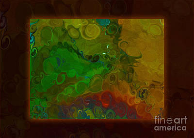 Painting - Emotional Discovery Of Joy Within Color An Abstract Painting by Omaste Witkowski