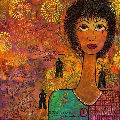 Joy Mixed Media - Emotional Truth by Angela L Walker