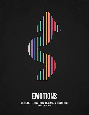 Emotions Print by Aged Pixel