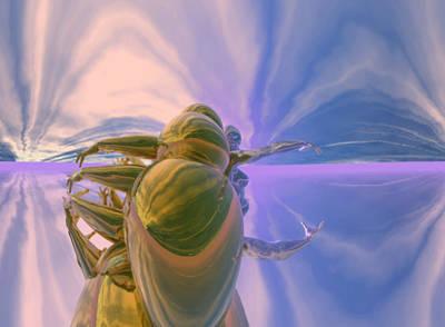 Digital Art - Emp Storm Earth #3_p_300 by Stephen Donoho
