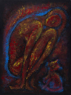 Painting - Empathy by Siyavush Mammadov