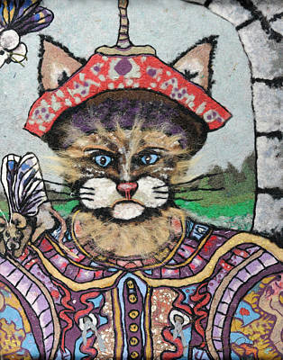 Emperor Mixed Media - Emperor Cat by Heidi Hooper
