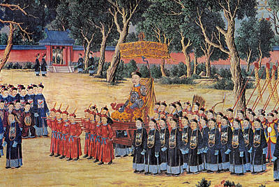 Painting - Emperor Ch'ien-lung, 1760 by Granger