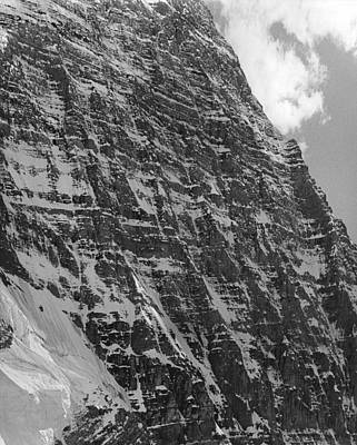 Photograph - Emperor Face On Mt. Robson by Ed  Cooper Photography