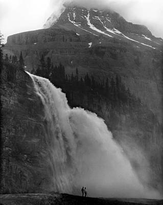 Photograph - Emperor Falls In 1966 by Ed  Cooper Photography