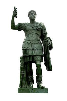 Photograph - Emperor Hadrian by Fabrizio Troiani
