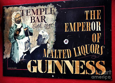 Of Artist Photograph - Emperor Of Malted Liquors by John Rizzuto