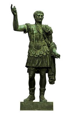 Emperor Trajan Art Print by Fabrizio Troiani