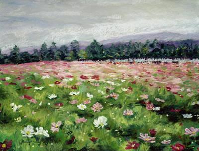 Pastel - Emperor's Field by Nancy Yang