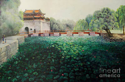 Painting - Emperor's Summer Palace by Marlene Book