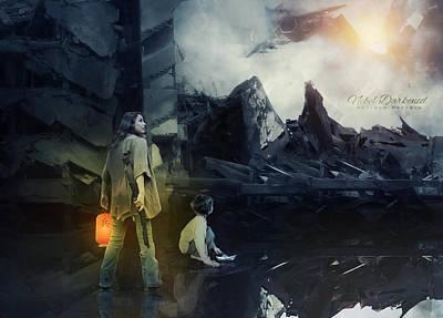 Ruins Mixed Media - Empire Of The Sun by Adriana Montoza