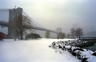 Photograph - Empire Park Winter by Tom Callan