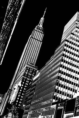 Empire State Building Photograph - Empire Perspective by Az Jackson