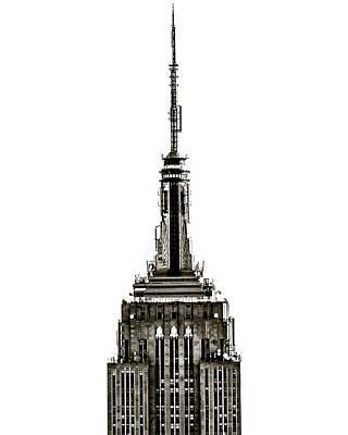Photograph - Empire Skyline by Richard Cline