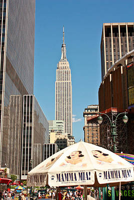Photograph - Empire State Building by Ann Murphy