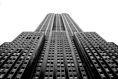 B Photograph - Empire State Building by Art K