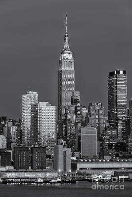 Photograph - Empire State Building At Twilight Iv by Clarence Holmes
