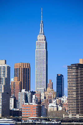 Photograph - Empire State Building by Alex Llobet