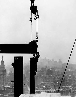 Photograph - Empire State Building, C1930 by Granger