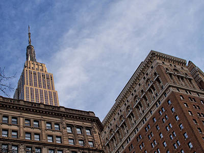 Photograph - Empire State Building by Cornelis Verwaal