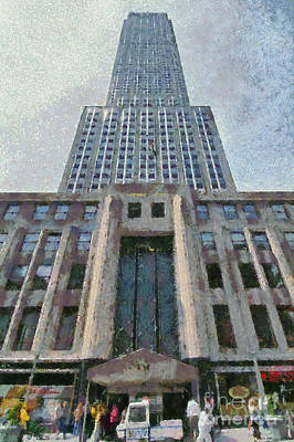 Painting - Empire State Building by George Atsametakis