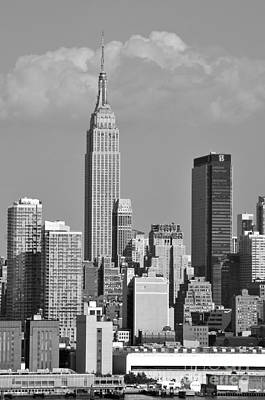 Photograph - Empire State Building by Kathy Flood