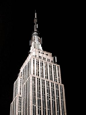 Photograph - Empire State Building by Liza Dey