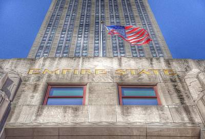 Empire State Building Art Print by Marianna Mills