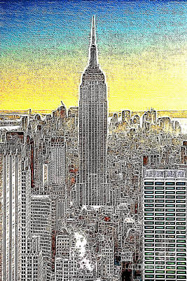 Empire State Building New York City 20130425 Art Print by Wingsdomain Art and Photography