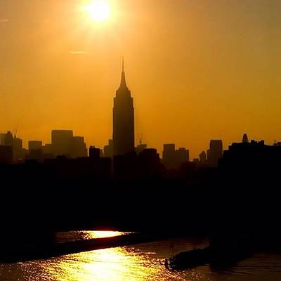 Skyline Wall Art - Photograph - Empire State Building... Nyc.  #nyc by Joann Vitali