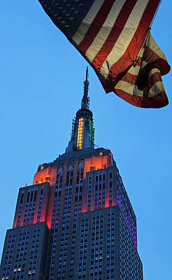 Royalty-Free and Rights-Managed Images - Empire state building Patriot by Joseph  Semary