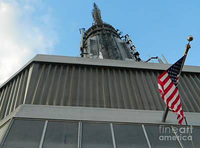 Empire State Building Point Of View Art Print by Emmy Marie Vickers