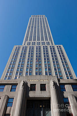 Photograph - Empire State Building Rising I by Clarence Holmes