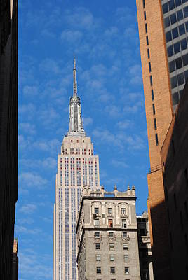 Photograph - Empire State Building by Robert  Moss