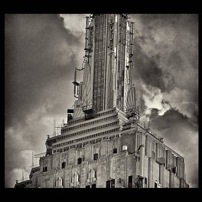 Empire State Building Art Print by Scott Radke