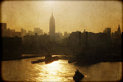 Photograph - Empire State Building Sunrise - Nyc by Joann Vitali