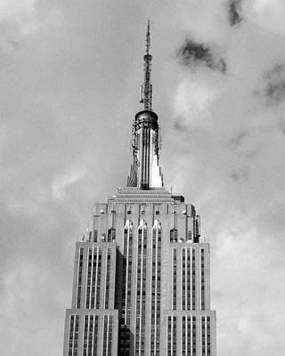 Photograph - Empire State Building Tower by Liza Dey
