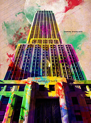 Empire State Art Print by Gary Grayson