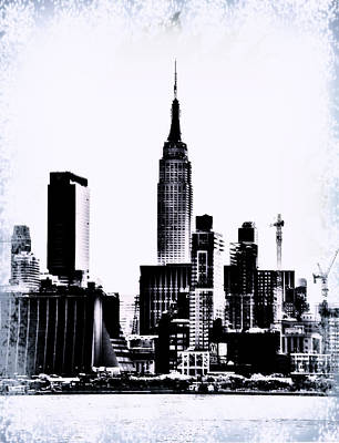 Empire State - Nyc Art Print by Bill Cannon