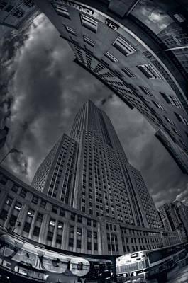 Empire State Of Vertigo Original by Mike  Deutsch