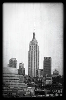 Empire State Art Print by Paul Cammarata