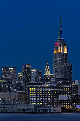 Empire State Art Print by Susan Candelario