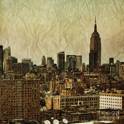 Central Park Photograph - Empire Stories by Andrew Paranavitana