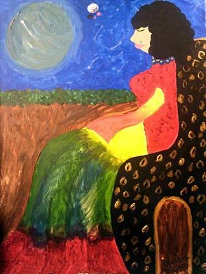 Painting - Empress Assira by Clarissa Burton