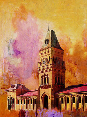 Empress Market Art Print by Catf