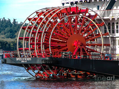 Photograph - Empress Of The North by Robert Bales