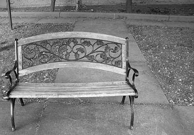 Photograph - Empty Bench by Stephanie Grooms