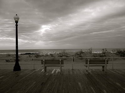 Photograph - Empty Benches by Joe  Burns